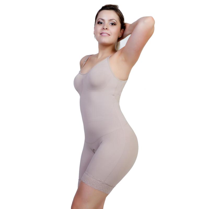 Modelador Curto com Bojo Heliópolis - Modelador Curto Pós-cirúrgico Abertura Frontal