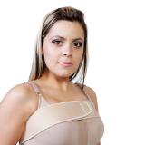 sutiã pós cirúrgico faixa peitoral